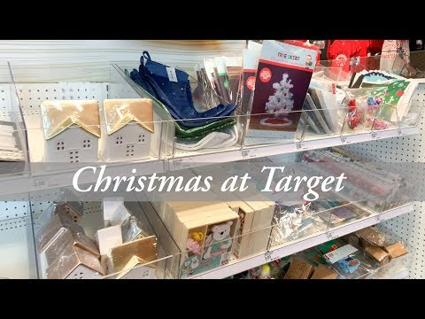 Target Dollar Spot Christmas 2019 Shop With Me! 🎯