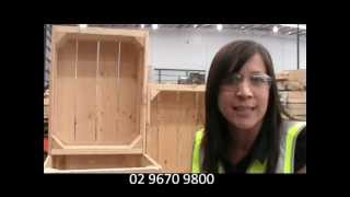 Wooden Fruit Crates - Wooden Fruit Crates Custom Made In Sydney