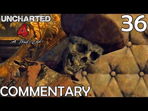 Uncharted 4 Walkthrough Part 36 - Avery's Secret Passage (Chapter 18/19)