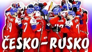 ČESKO - RUSKO   MS v hokeji 2018