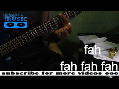 "Bass Line of ""Arise"" by Don Moen in Tonic Solfa"