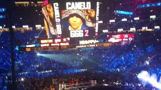 GGG entrance vs Canelo rematch T-Mobile Arena 9/15/2018