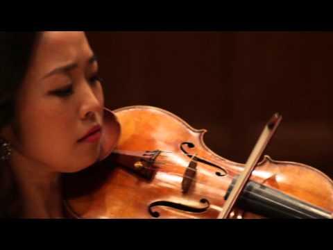 CLIP Tomaso Vitali Chaconne - Jessica Lee, violin & Reiko Uchida, piano