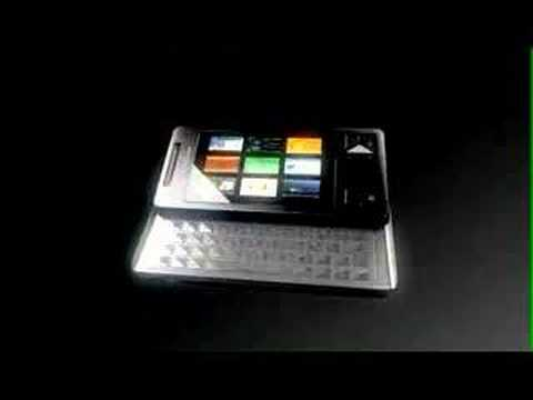 sony ericsson's XPERIA X1 user interface