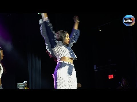 SEYI SHAY Performs LIVE At #OneAfricaMusicFest #NYCshutdown