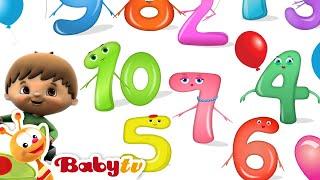 Berjumpa dengan Angka 1 sampai 10 dengan Charlie & the Numbers - BabyTV Bahasa Indonesia