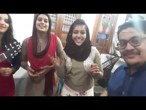 Shaki Shaz...sajla,sajli,saleej,riyana and rameez plyng a selfy