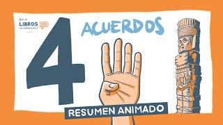 LOS 4 ACUERDOS, de Miguel Ruiz - Un Resumen Animado de Libros para Emprendedores