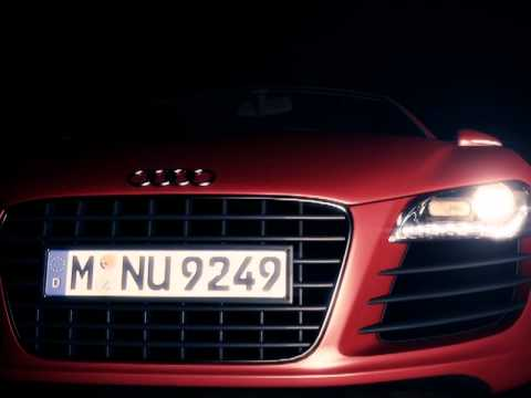 Audi R8 - Quick animation