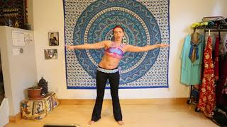 Bellydance CLASS 6 with Iana: Turkish Belly Dance Combo