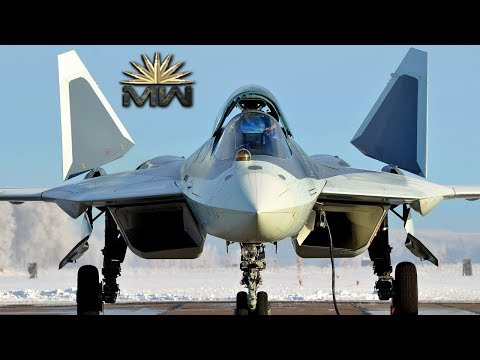 Sukhoi Su-57 ⚔️ Russian Multirole FIFTH Generation Jet Fighter