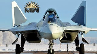 Sukhoi Su 57 ⚔️ Russian Multirole Fifth Generation Jet Fighter [review]