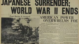 The video of japan surrender in WW2 first time in public 日本投降原始视频首次公佈