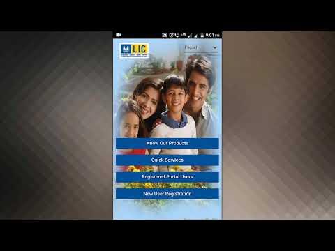 LIC customer App