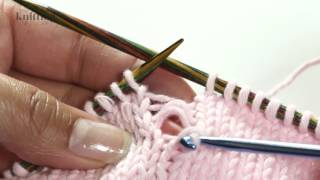 How To Knit: Picking Up Dropped Stitch