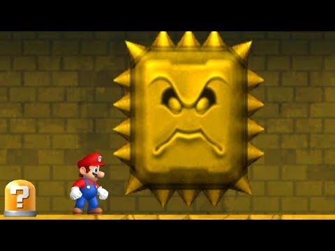 Newer Super Mario Bros Wii Walkthrough - World 2 - Rubble Ruins