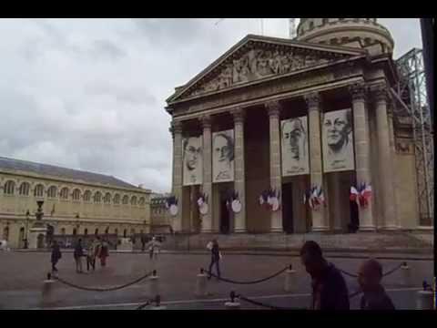 Saint German über Uni Sarbonne zum Pantheon im Quartier Latin Paris 2015 Schützes Expedition