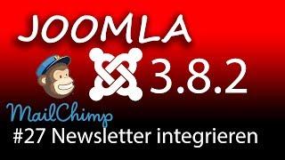 Mailchimp Newsletter Anmeldung in Joomla einbinden - [1080p HD]