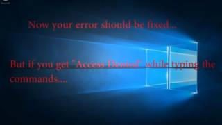 Fix Error Code 0x80010108 in Windows 10