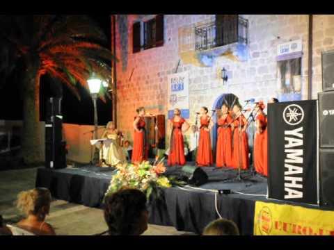 Music festival in Perast, Montenegro