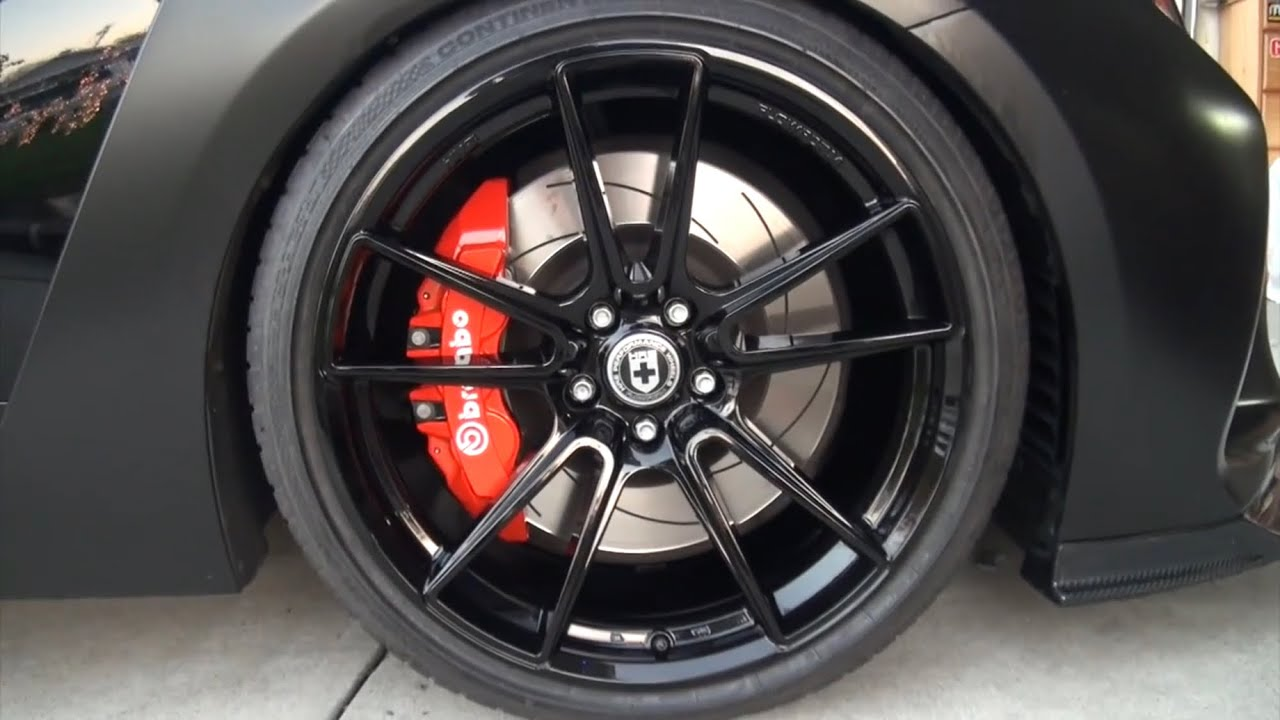 How To Vinyl Wrap Your Brake Calipers Youtube