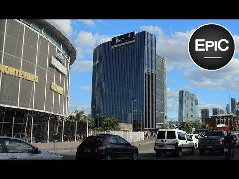 Edificios de Telefónica y Telecom - Buenos Aires, Argentina (HD)