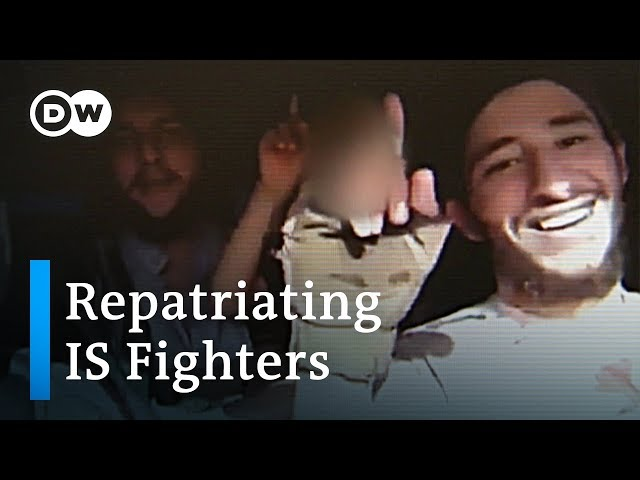 Turkey starts sending IS prisoners back to their home countries | DW News