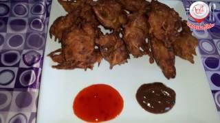 Bengali / Indian style Homemade Snaks Cabbage pakora Recipe (বাঁধাকপি পাকড়া )