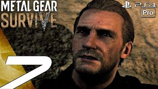 Metal Gear Survive - Gameplay Walkthrough Part 7 - Seth Boss Fight (Full Game) PS4 PRO