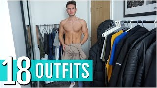 Gambar cover 18 Simple & Easy Outfits For Men | Men's Autumn Outfit Ideas 2019
