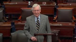 UNFAIR IMPEACHMENT: Mitch McConnell BLASTS Democrats Over SHAM President Trump Impeachment