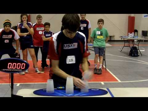 Individual Cycle Sport Stacking World Record 4.813 (William Orrell)