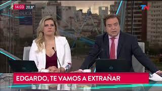 Falleció el periodista Edgardo Antoñana: el recuerdo del p...