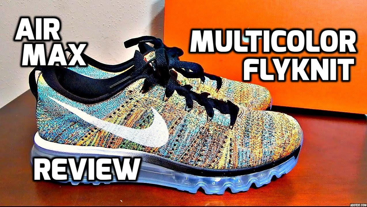 nike flyknit air max grey orange