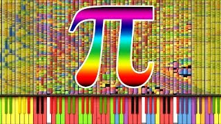 "[Black MIDI] Synthesia - ""Pi"" π/3.14 MILLION (3,141,592) ~ TheSuperMarioBros2"