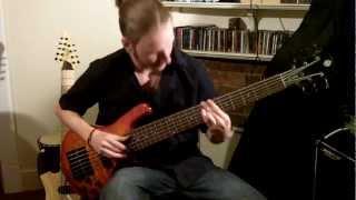 Nile - Ithyphallic (Cover) 6 String Bass