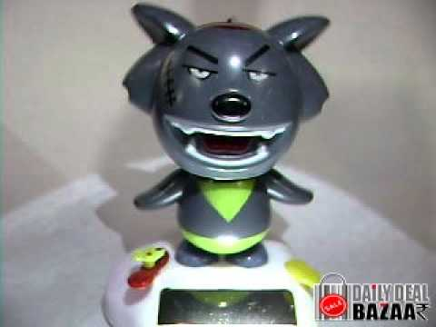 Solar Horror Toy for Car Home and Offices