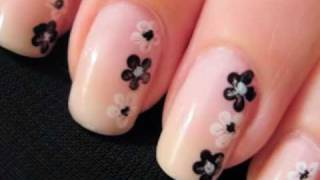 Easy Nail Art for Beginners: Flower Nails!