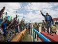 Arrival of President Kagame at Nyamagabe District