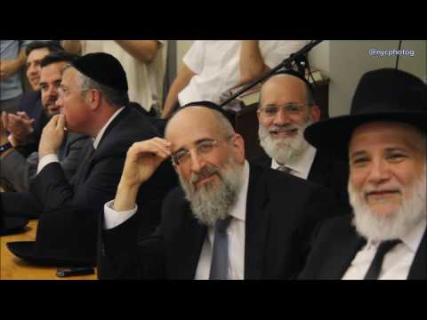 Rabbi Reisman Visit To Yeshiva Of Waterbury Durham Campus