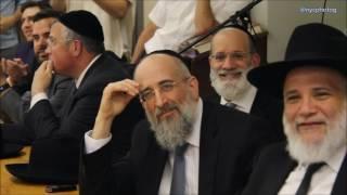 Rabbi Reisman Visit To Yeshiva Of Waterbury Durham Campus