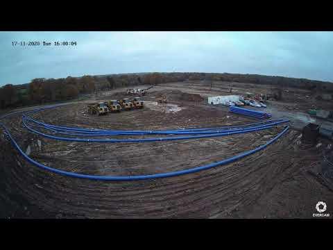 Sky Studios Elstree Construction Time Lapse