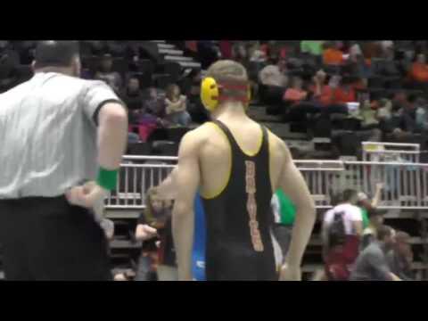 Wyoming High School State Wrestling 2017 Day 1 Recap
