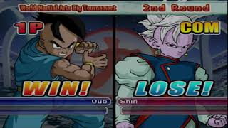 world martial arts big tournament uub drago ball tenkaichi 3