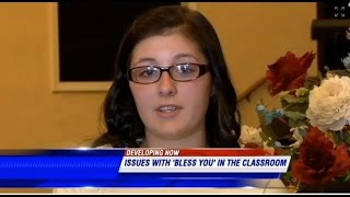 Tennessee Teen SUSPENDED After Saying