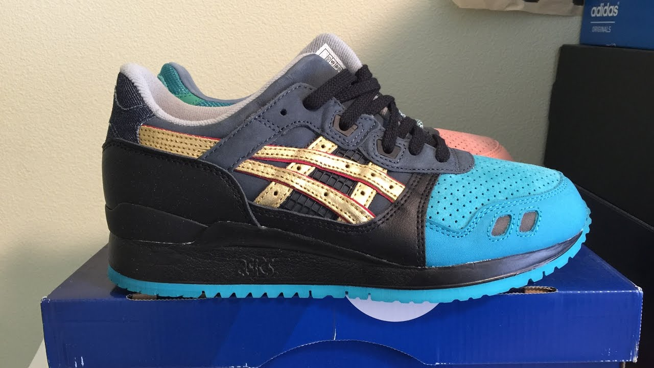 premium selection bf9fd a676b Ronnie Fieg x Asics Gel Lyte 3 'Homage' Sneaker Unboxing