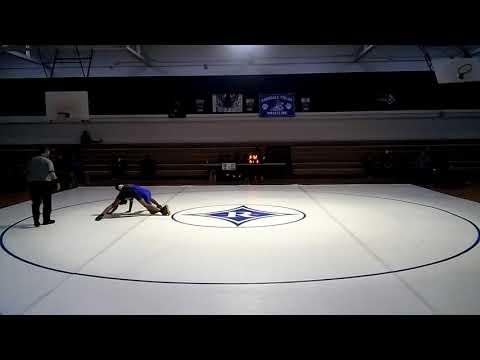 Jamestown vs Mendenhall Middle School 120 lb weight class