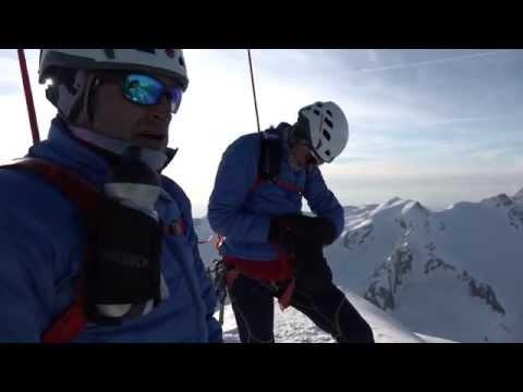 Le ski extrême de montagne - sept sommets de quatre mille mètres en moins de 24 heures