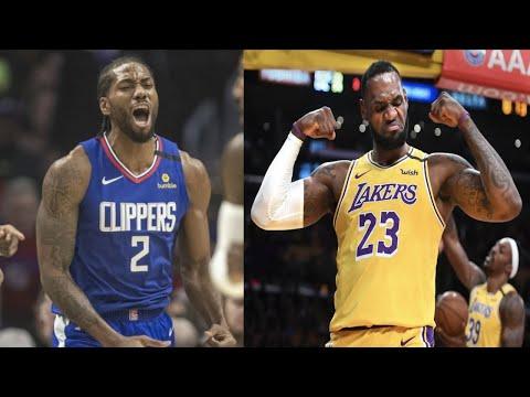 """NBA """"King Of LA"""" MOMENTS"""