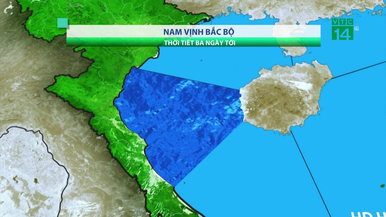 Thời tiết biển 07/04/2019: Vịnh Bắc bộ là vùng biển duy nhất có thời tiết xấu | VTC14